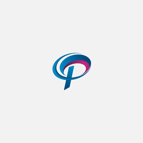 concept logo of the letter P