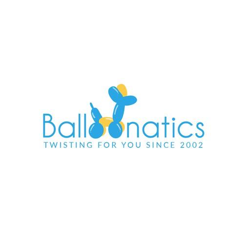 Fun Logo for Balloon Company