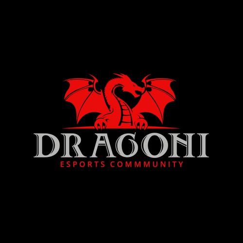 Angry Dragon Guardian Logo