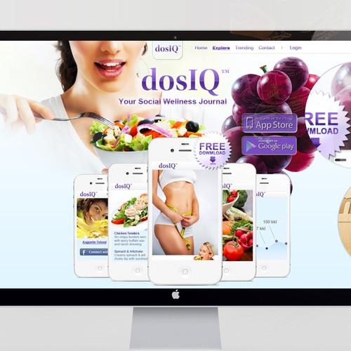 New website design wanted for dosIQ Wellness Journal