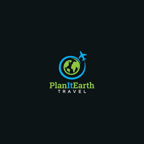 Design a trendsetting logo for an international travel agency