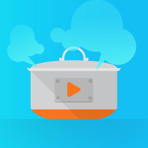 Video Recipe App Icon/Symbol