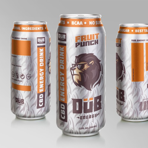 Logo and Label Design for Beverage Company