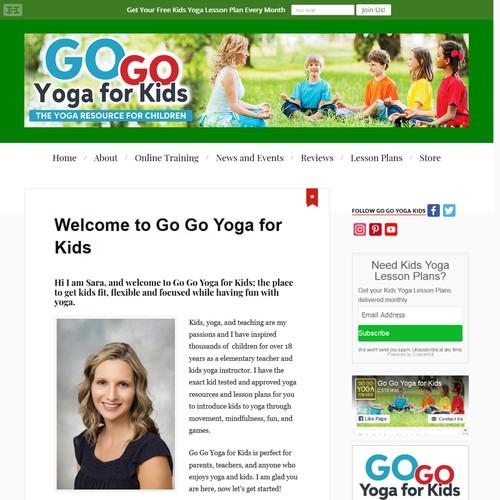 Go Go Yoga for Kids Header