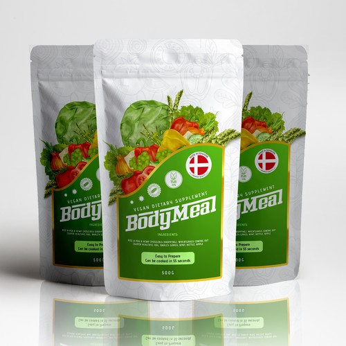 Body Meal vegan dietary supplement