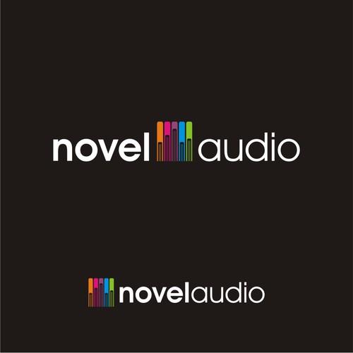 simple modern design for Novel Audio