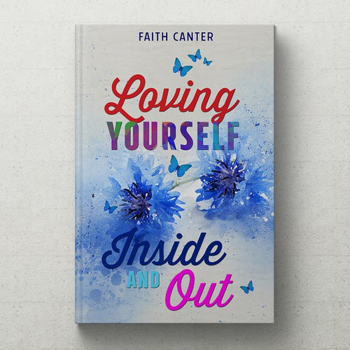 Design an inspiring book cover!