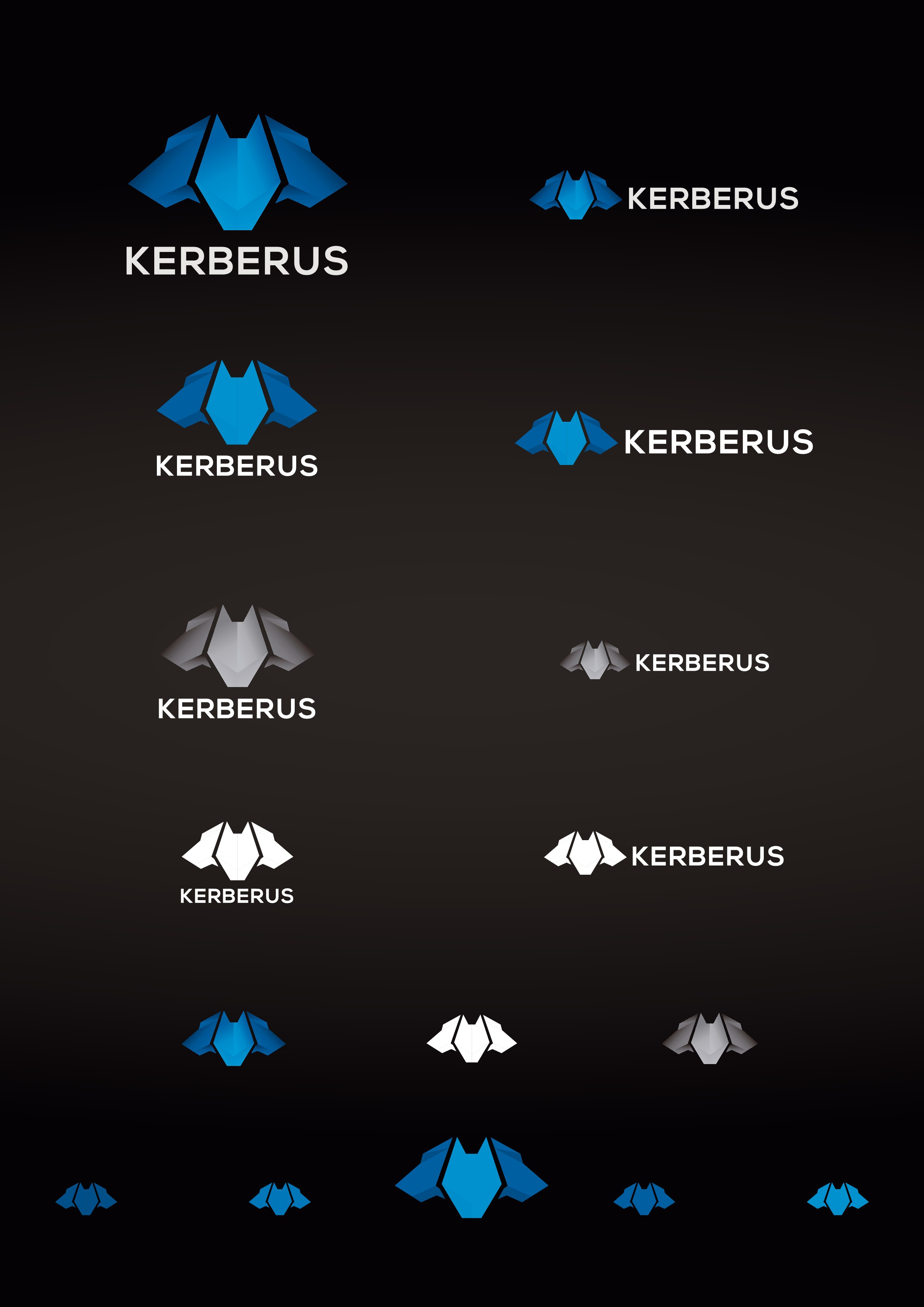 Create a product logo + website for Kerberus security system