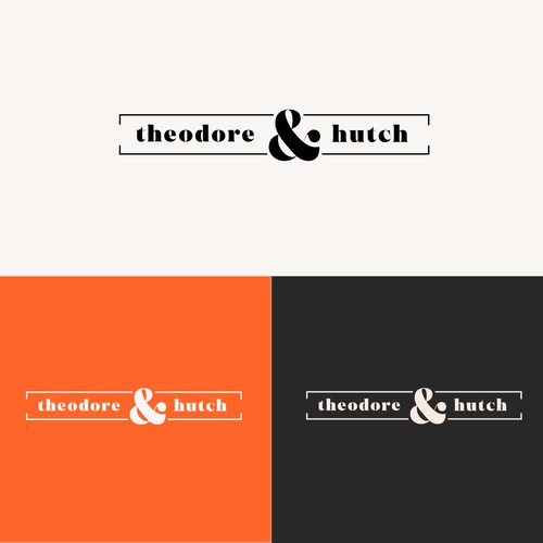 Creative agency Theodore and hutch logotype