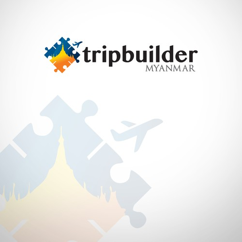 Puzzle logo for Traveling co