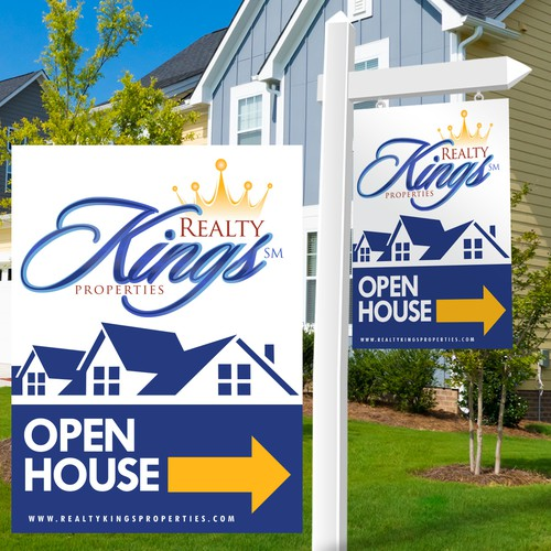 Create an Eye-catching Open House Sign