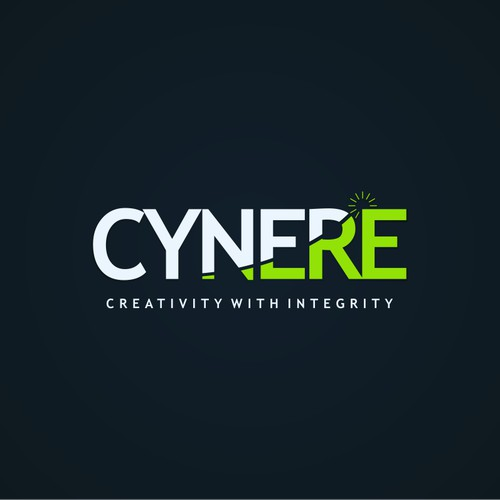 Re-branding the logo of CYNERE (minimalist design)