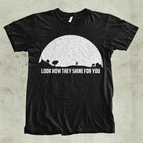 Astronomy based T-shirt !!!