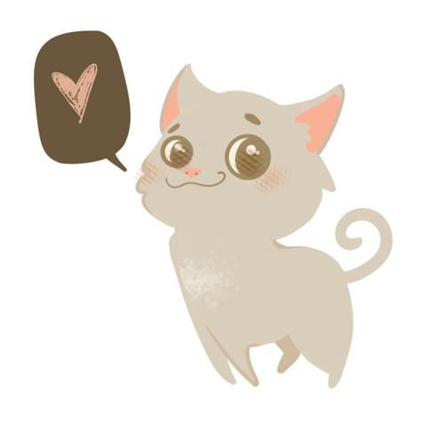 Cutie CAt illustration