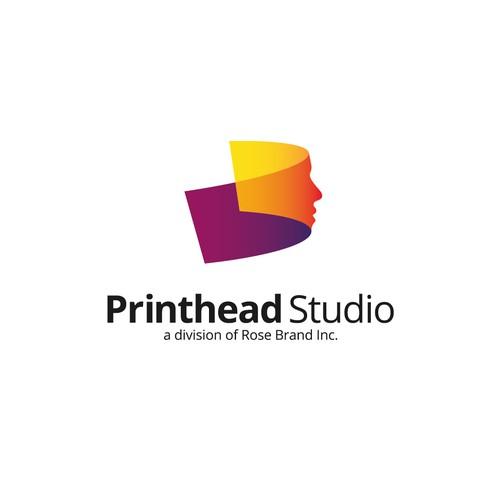 Logo for Printhead Studio
