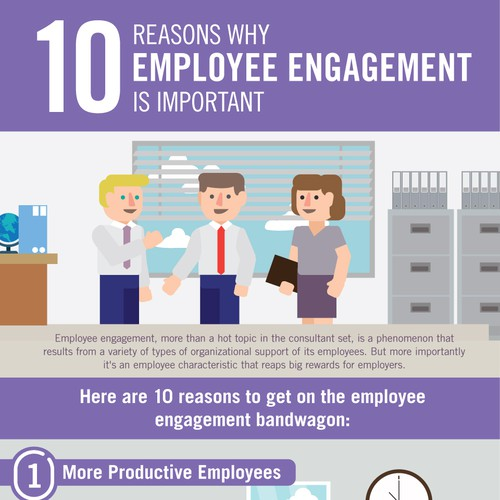 Infographics: 10 Reasons Why Employee Engagement is Important