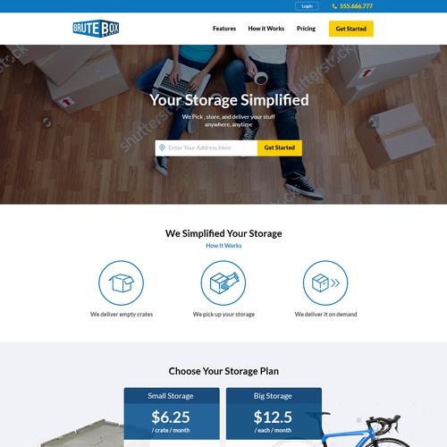 Web Design for Brute Box