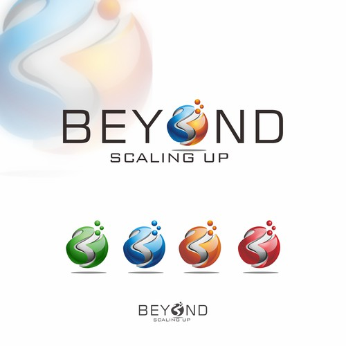"3d logo for ""BEYOND"""