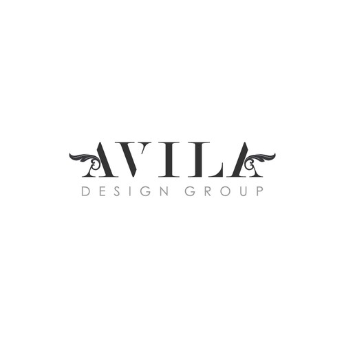Create the next logo and business card for Avila Designs