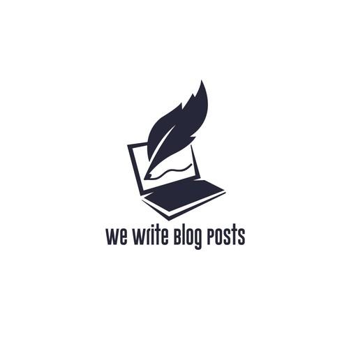 we write blog posts
