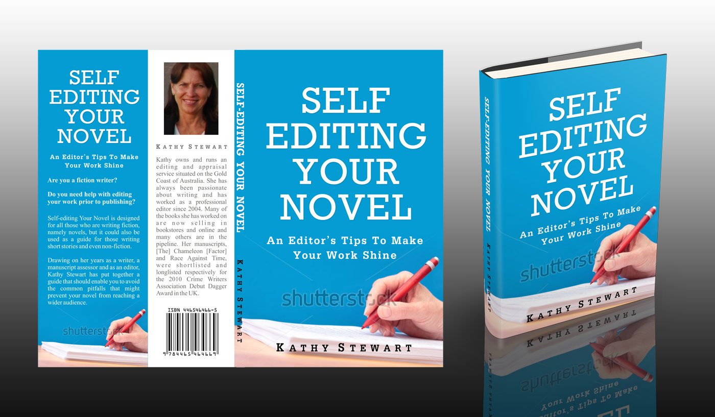 Create an eye-catching design for Self-Editing Your Novel