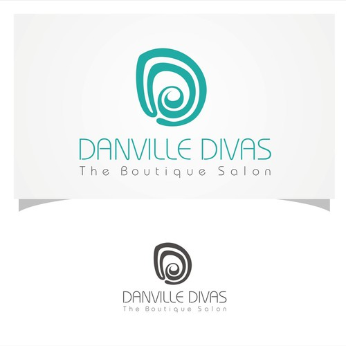 ** Create an Original Logo for a Luxury Hair Salon **