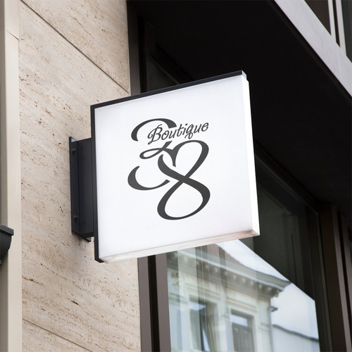 Logo for fashion boutique