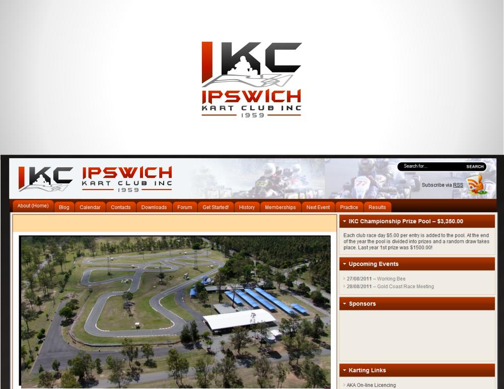 logo for Ipswich Kart Club Inc
