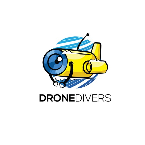 Logo for Drone Divers