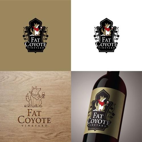 Fat Coyote Vineyard logo