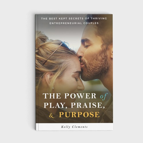 Beautiful cover for a couples entrepreneur book