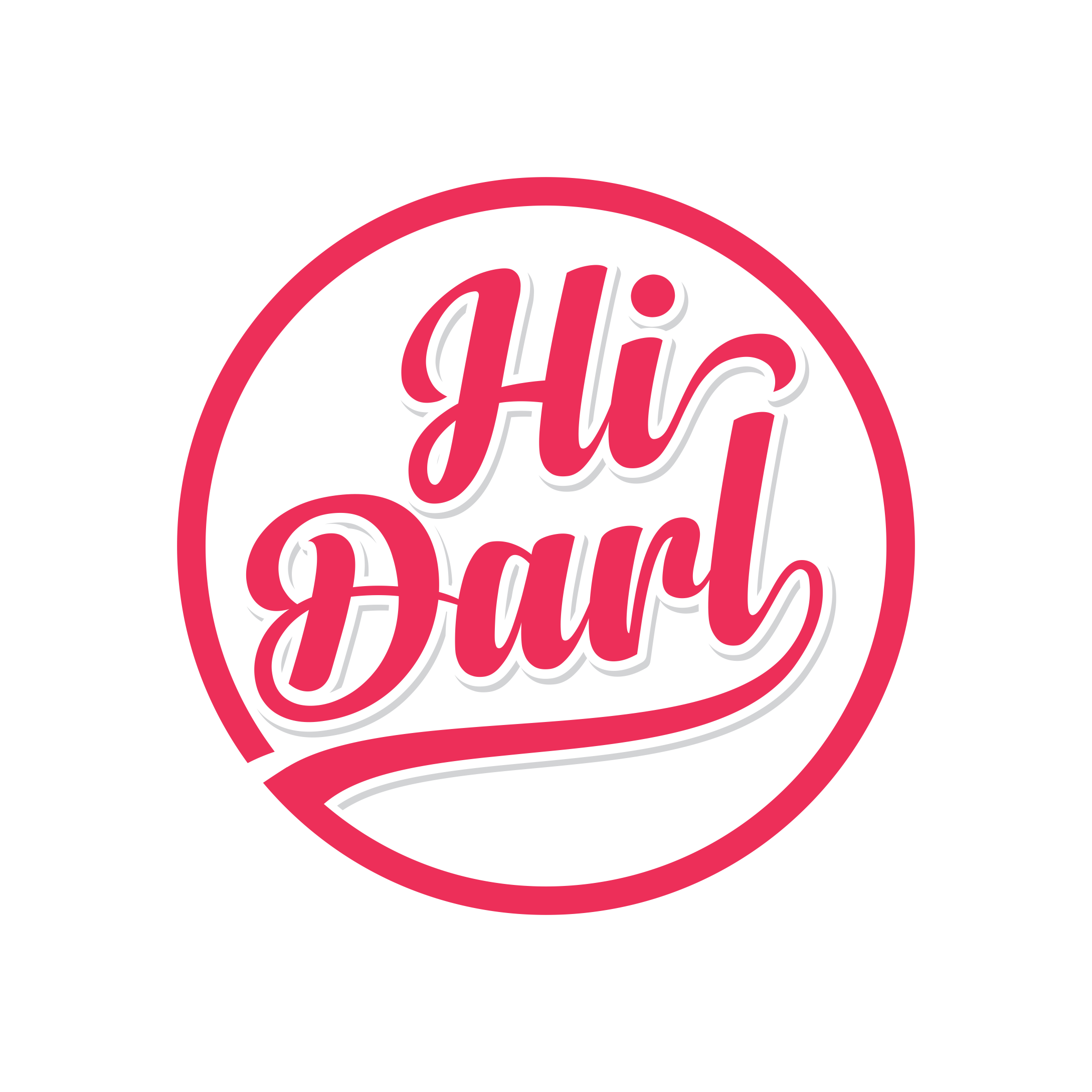 Be a darling and create the ultimate 'Hi Darl' logo for merch & clothing in a rockabilly town