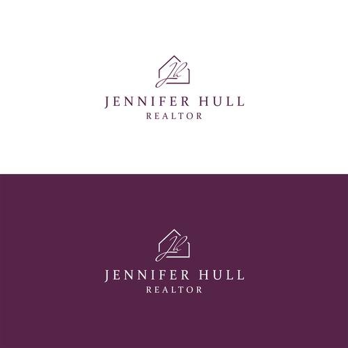 Personal Realtor Logo Design For Jennifer Hull