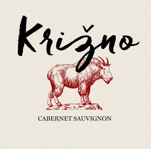 A concept for a label for a Slovenian wine brand.