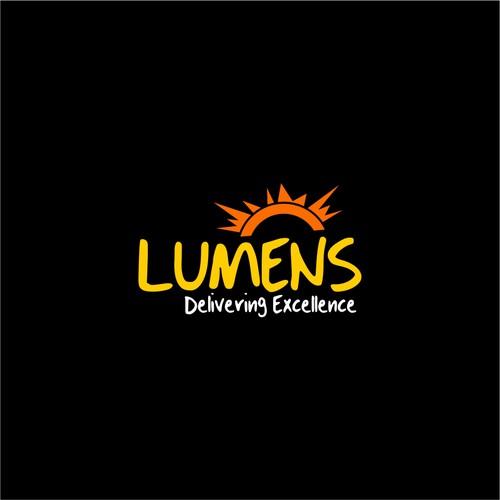 LUMENS Logo Design.