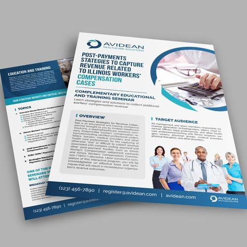 Medical conference flyer