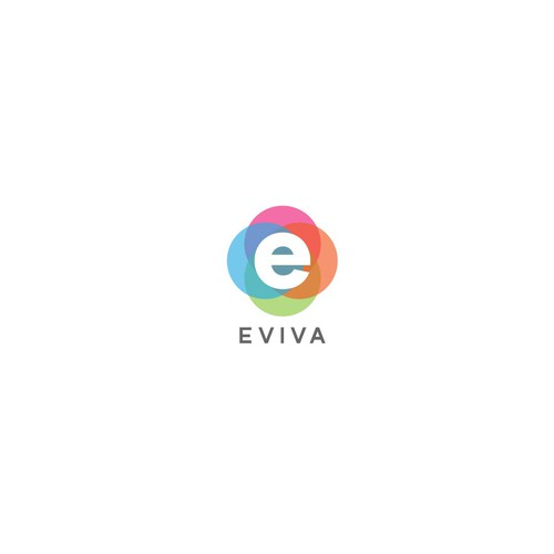 Logo design for evive LED