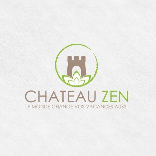 Chateau Zen Logo Design