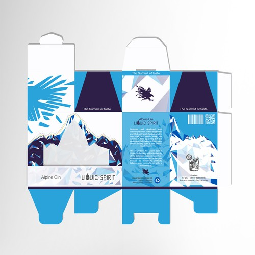 Alpine Gin Box Packaging