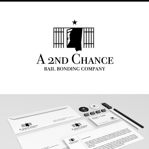 A 2nd Chance logo - jail exit :) Full branding!