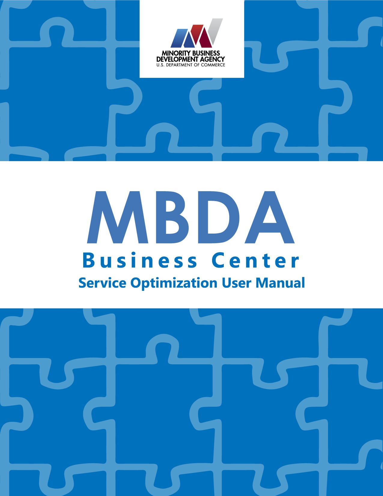 Service Optimization Manual Cover Page