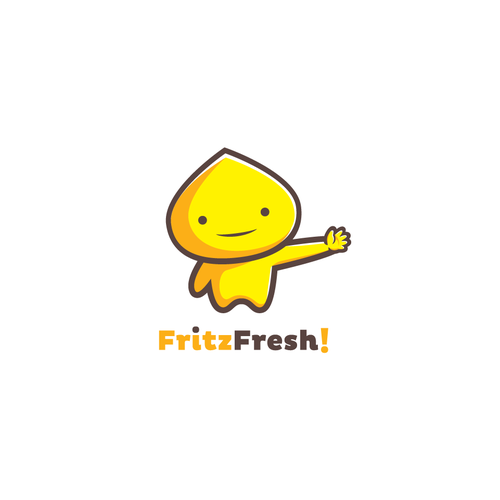 FritzFresh! Logo Mascot Design