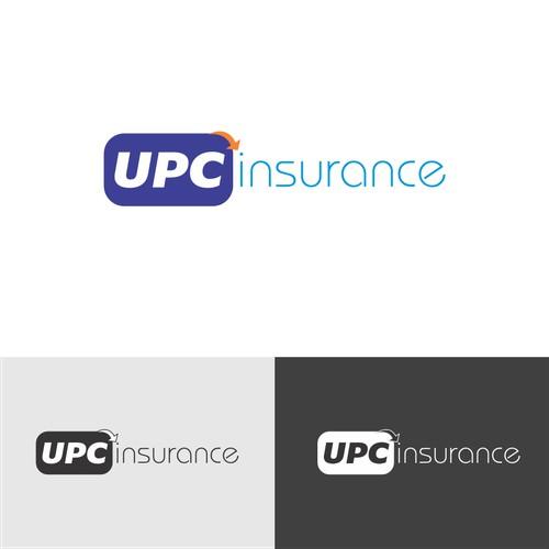 Create the next logo for UPC Insurance