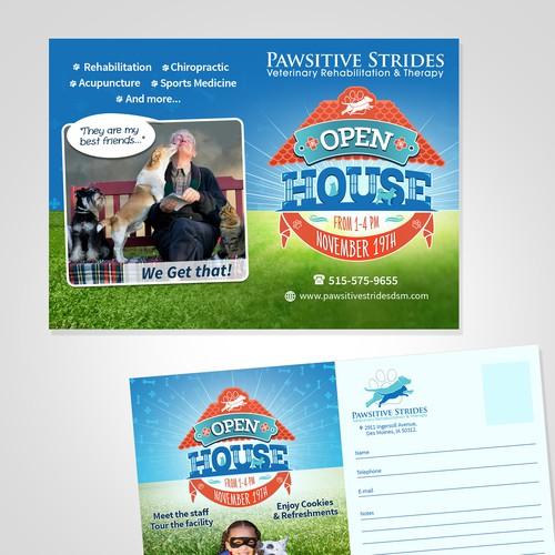 Postcard Flyer Design