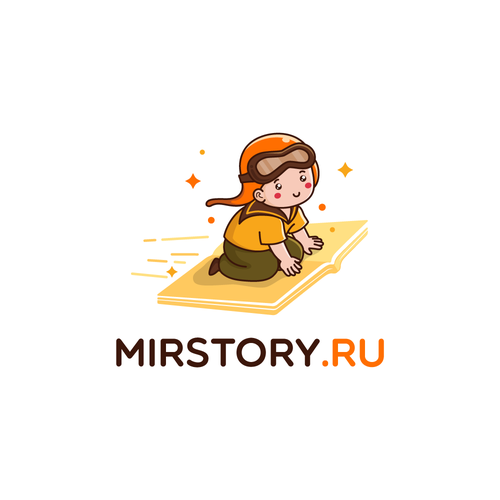 MIRSTORY logo design