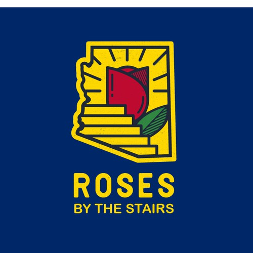 Roses By The Stairs