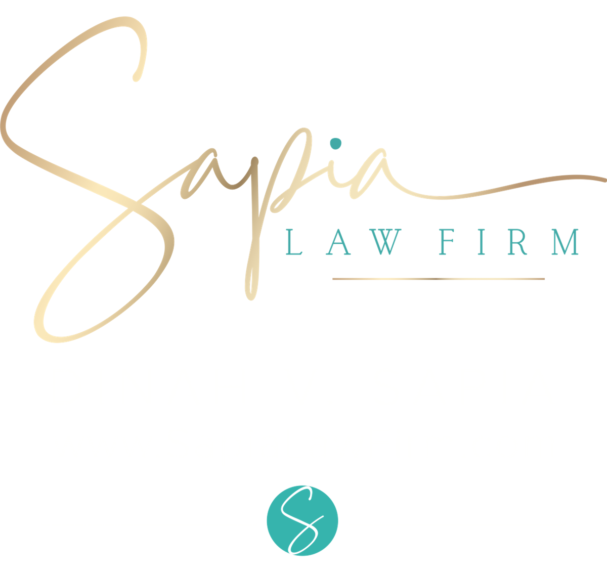Sapia law firm signage