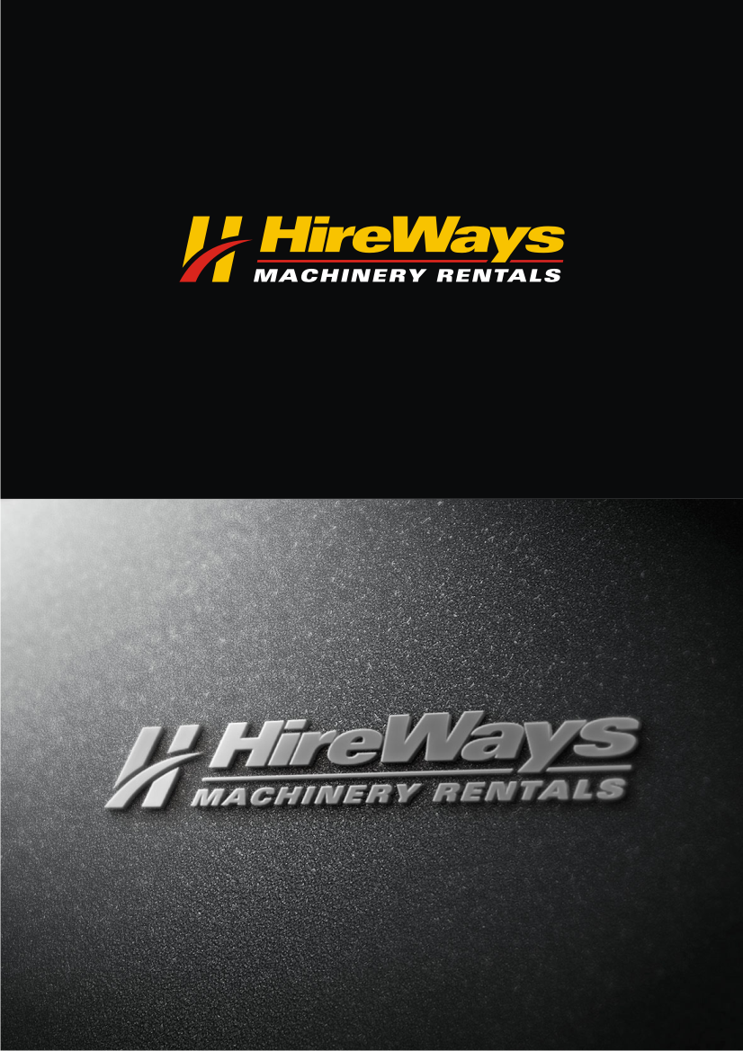 create a clean cut corporate logo and image for Hireways Ltd.
