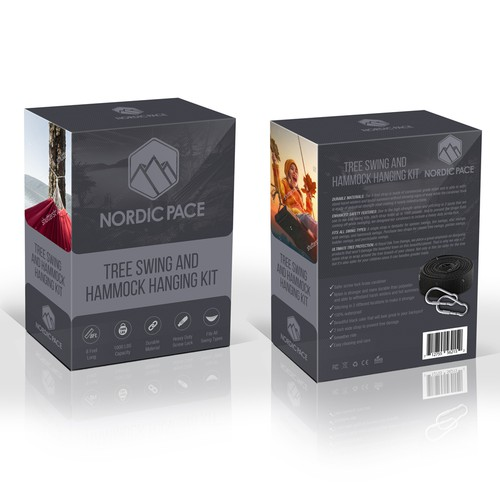 product package for Nordic Pace