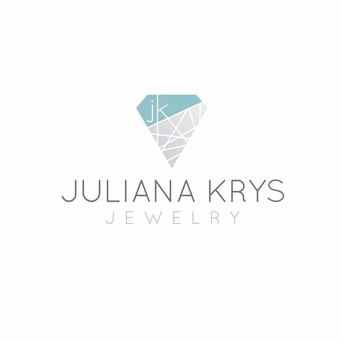 Sleek Edgy Logo for Jewelry Designer